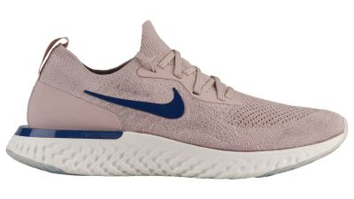 NIKE EPIC REACT FLYKNIT DIFFUSED TAUPE : BLUE VOID - PHANTOM 2