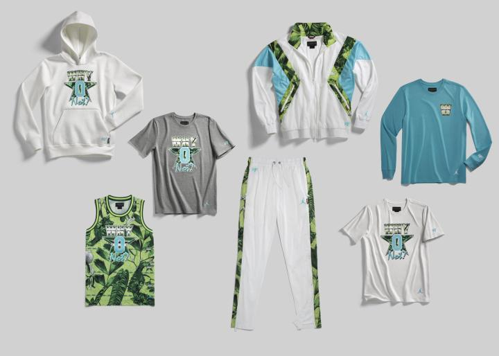 Russell Westbrook why not floral apparel collection