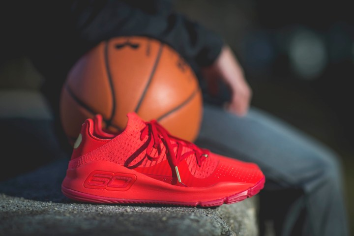 Under Armour Curry 4 Low Color Pack Red