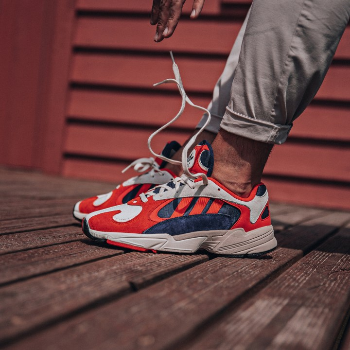 adidas yung 1 on foot