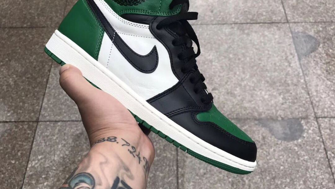 5884a04a393 First Look at the Air Jordan 1  Pine Green  - WearTesters