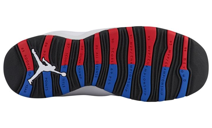 air jordan 10 russell westbrook outsole