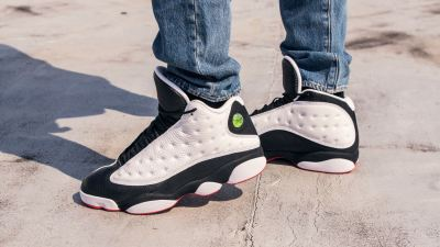 air jordan 13 he got game on foot