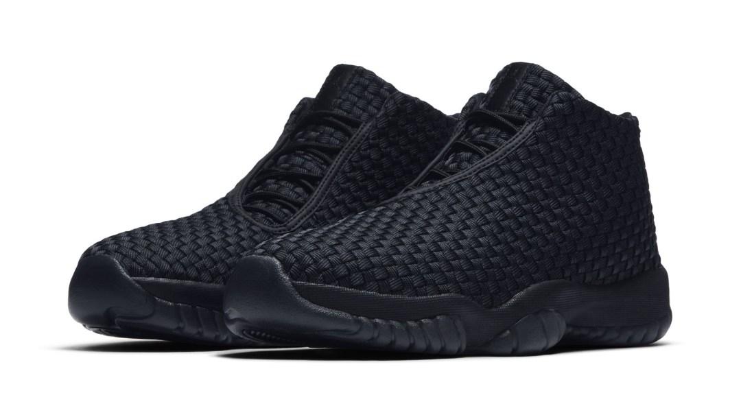 dfca0382b06732 The 2018 Air Jordan Future  Triple Black  Surfaces Online - WearTesters