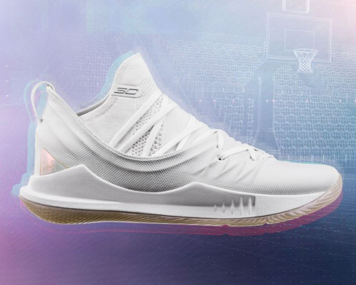 curry 5 triple white
