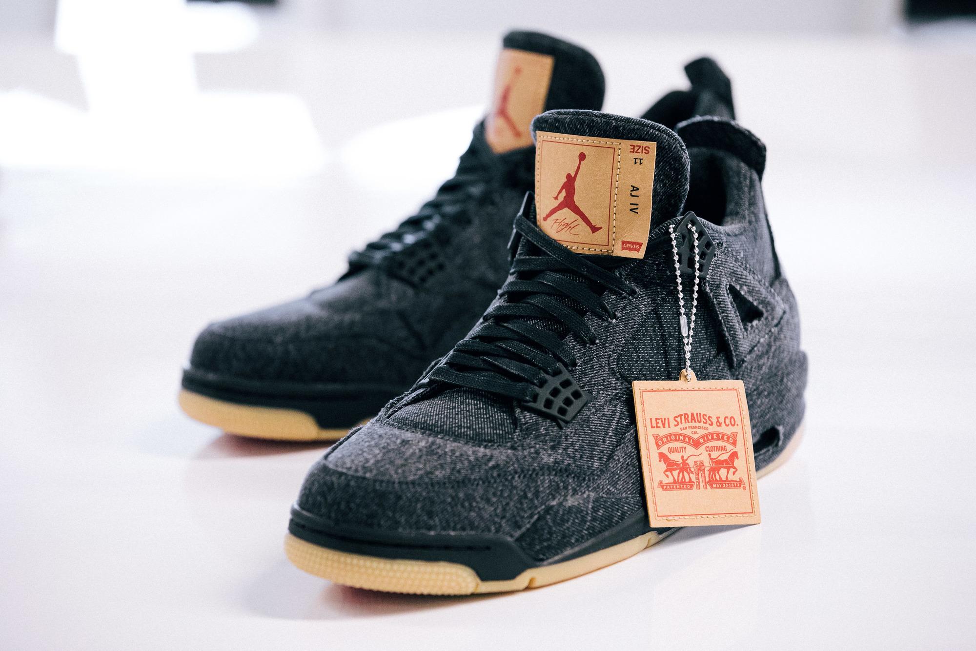aa18524a511f43 levis air jordan 4 black release date · Jordan Brand   Kicks Off Court ...
