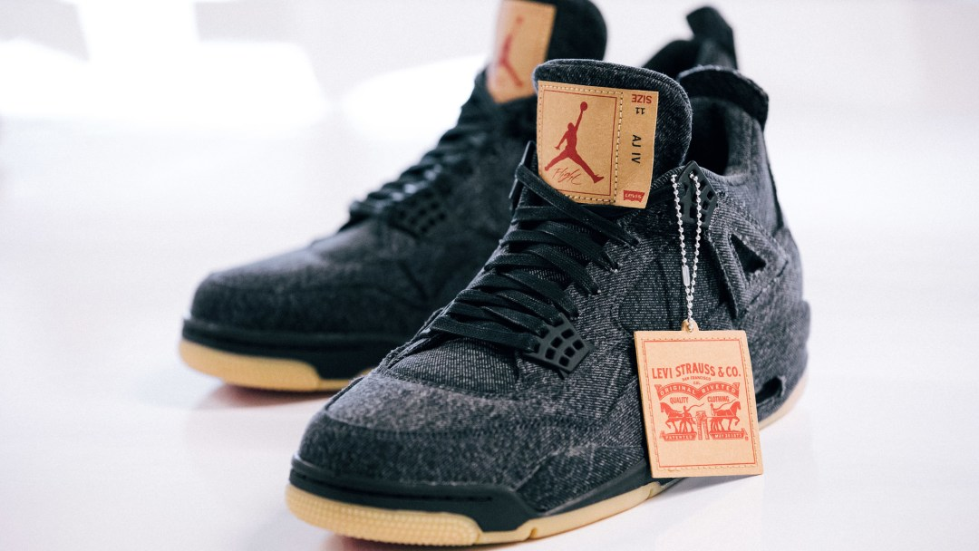 6fa106bc62340c The Upcoming Levi s x Air Jordan 4 Release Date is Official