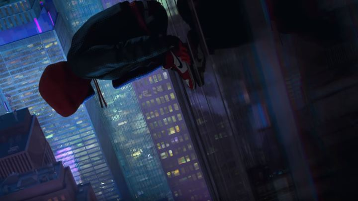 Miles Morales Rocks The Air Jordan 1 In Spider Man Into The Spider