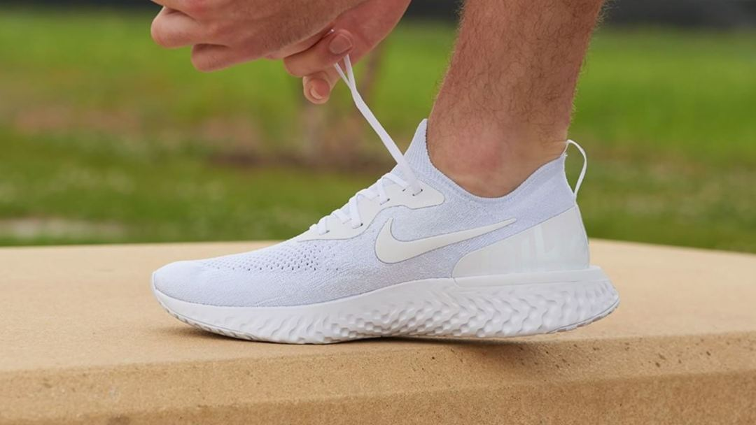 4ef4b39a52f7 Triple White  Nike Epic React Flyknit and Air VaporMax 2 Builds are ...