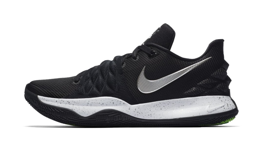 5792705c1c4e The Nike Kyrie 4 Low is Clean in Black and White - WearTesters