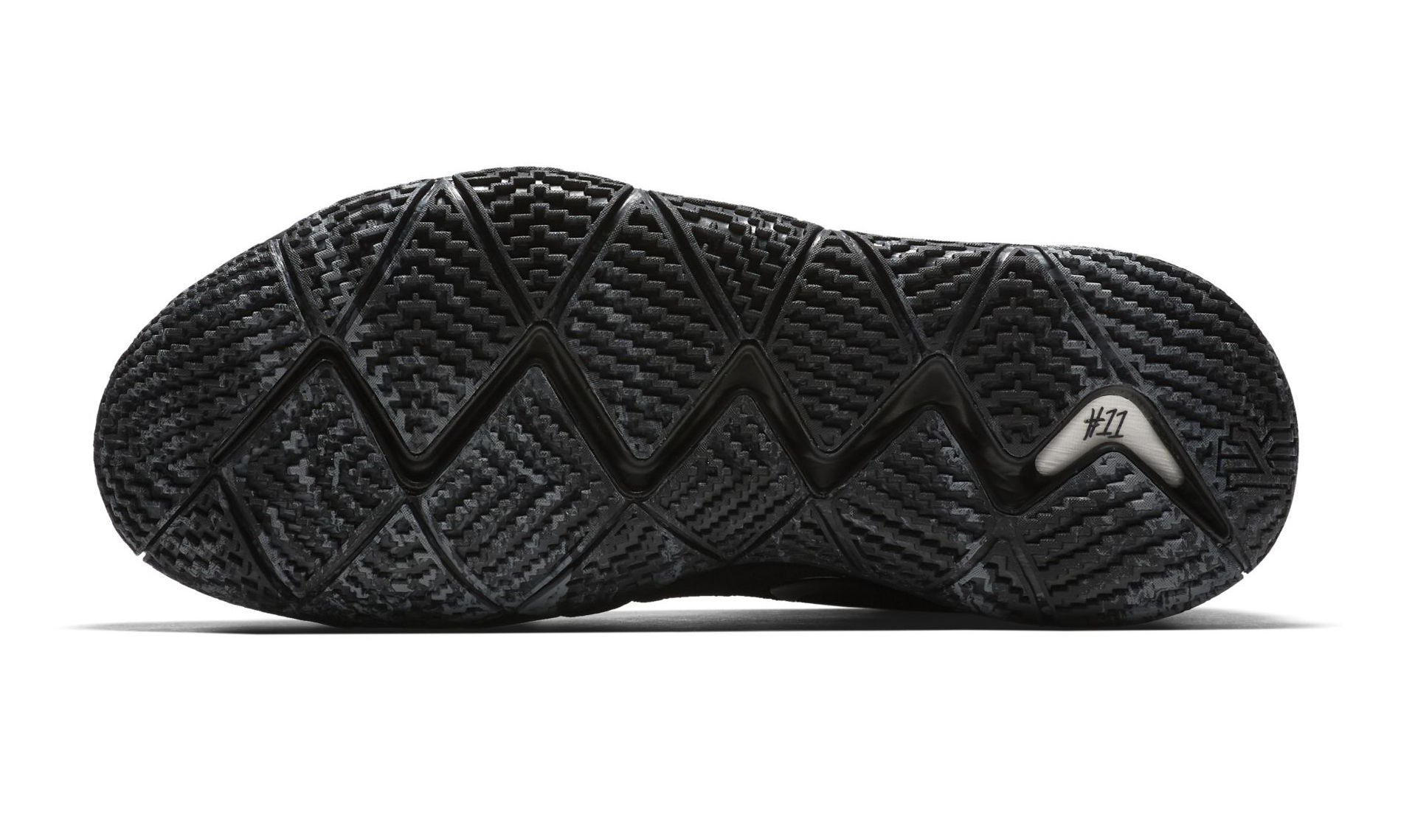 factory price 6a684 113c5 nike kyrie 4 triple black outsole - WearTesters