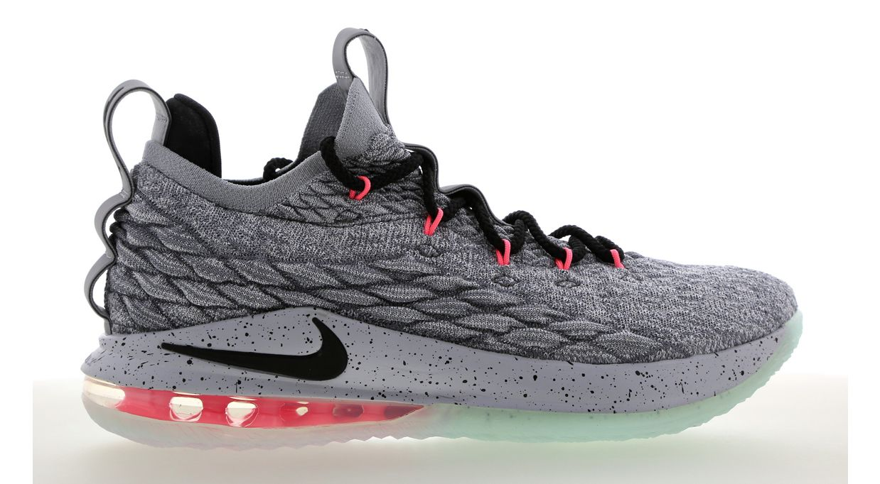 26076ccd4ffb5 The LeBron 15 Low  Flight Pack  Offers Neon Accents That Show Off ...