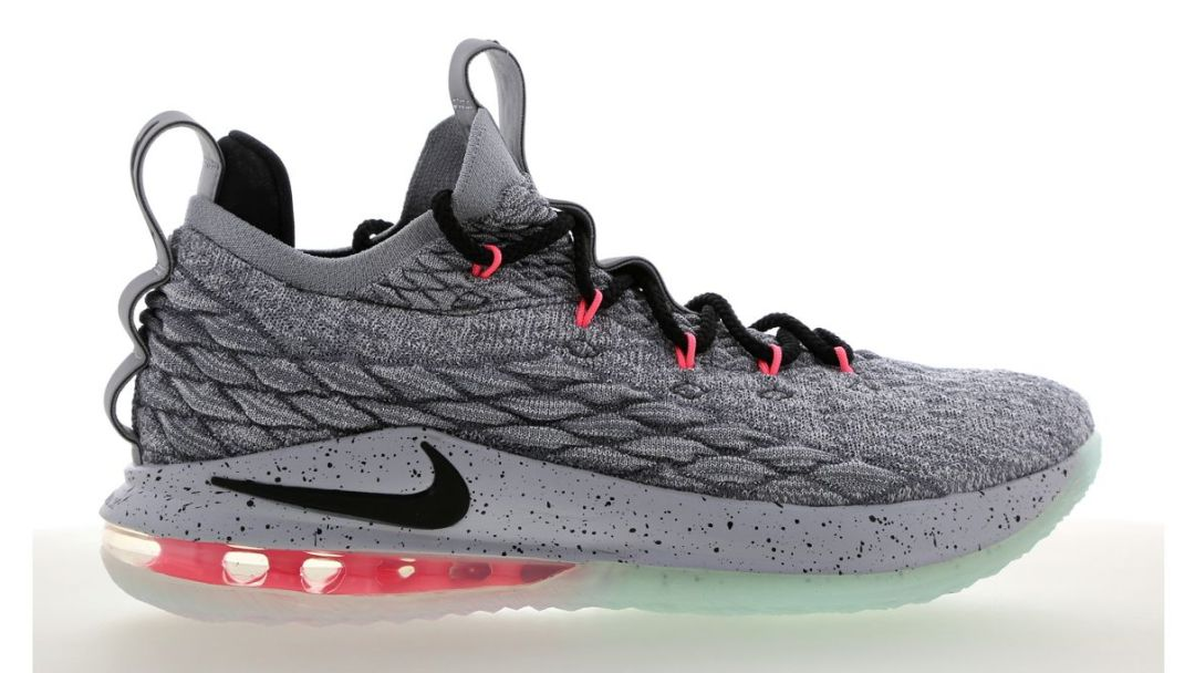 466101c56e69d The LeBron 15 Low  Flight Pack  Offers Neon Accents That Show Off ...