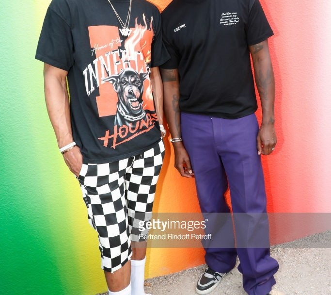 russell westbrook virgil abloh Paris Fashion Week