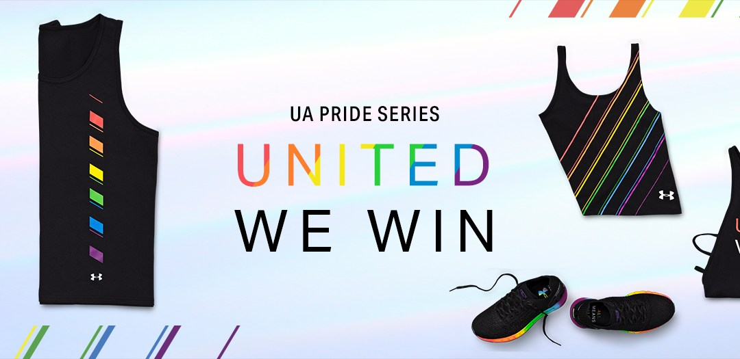 ab2db2d8ff4ca Under Armour Drops Pride Collection for Pride Month, All Proceeds Go ...