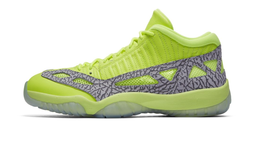 8e24607c7ca This 'Ghost Green' Air Jordan 11 Low IE Drops Next Month - WearTesters