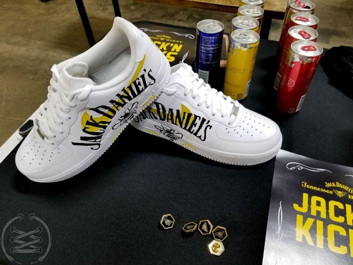 Sneaker Politics x Jack Daniel's Tennessee Honey - Jack 'N Kicks