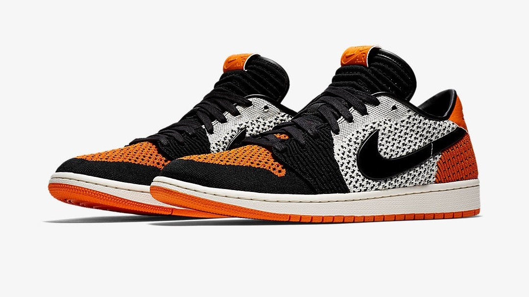 c3b62f832d677d Official Look at the Air Jordan 1 Flyknit Low  Shattered Backboard ...