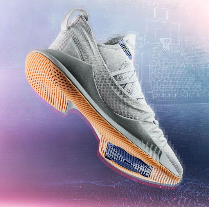 curry 5 grey gum heel