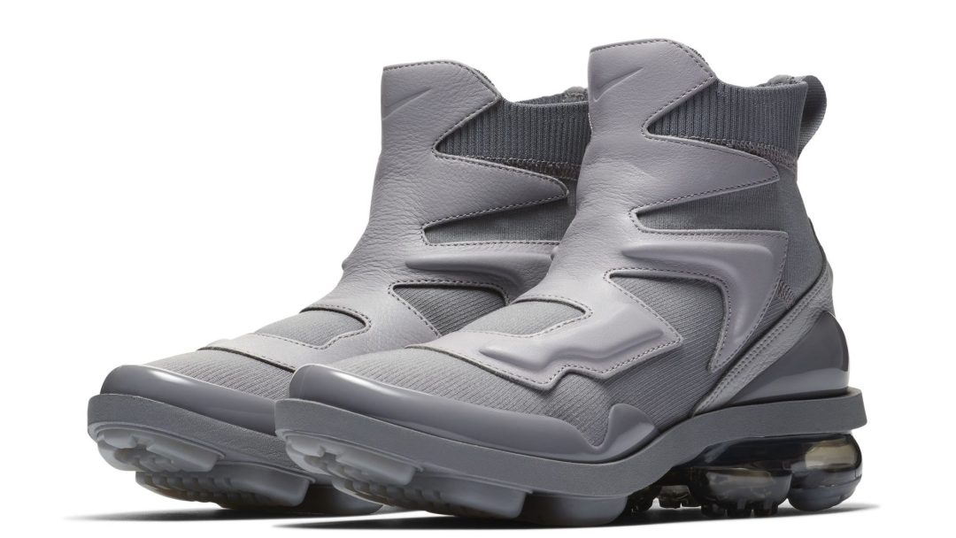 ca3599a007d Knit Nike Air VaporMax Boots are Coming - WearTesters