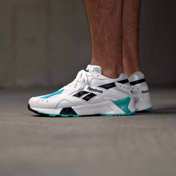 reebok aztrek 2018 on foot