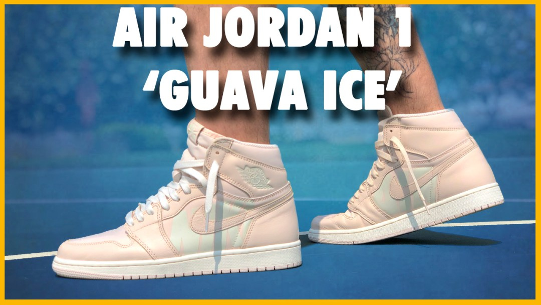 86700fe2cb49 Air Jordan 1 High OG  Guava Ice