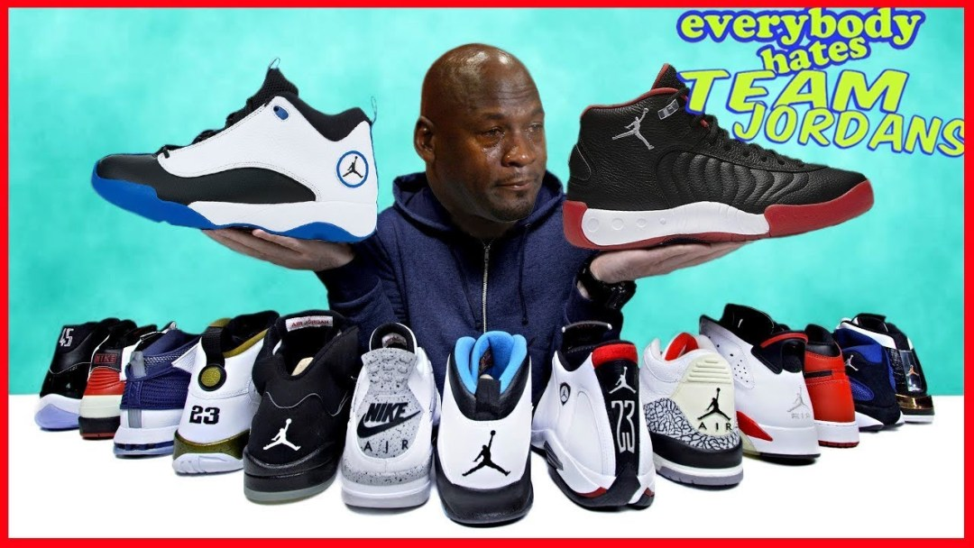 ef538cf668a8 Why Does Everyone Hate Team Jordans