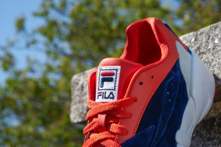 Fila mindblower red navy tongue