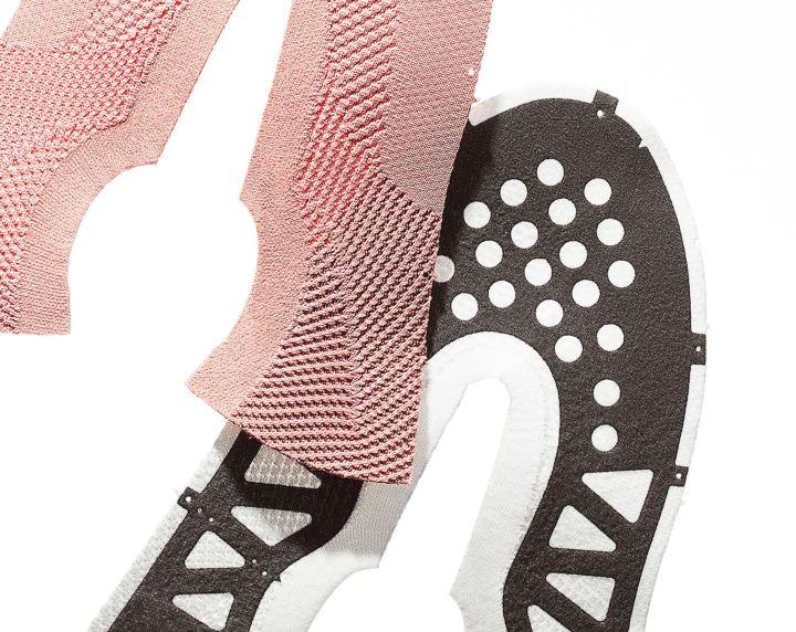 LANE EIGHT knit upper reinforcement