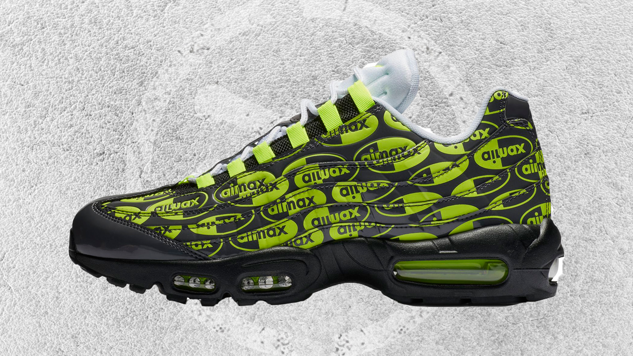 A Vibrant Nike Air Max 95 Premium Releases in Europe