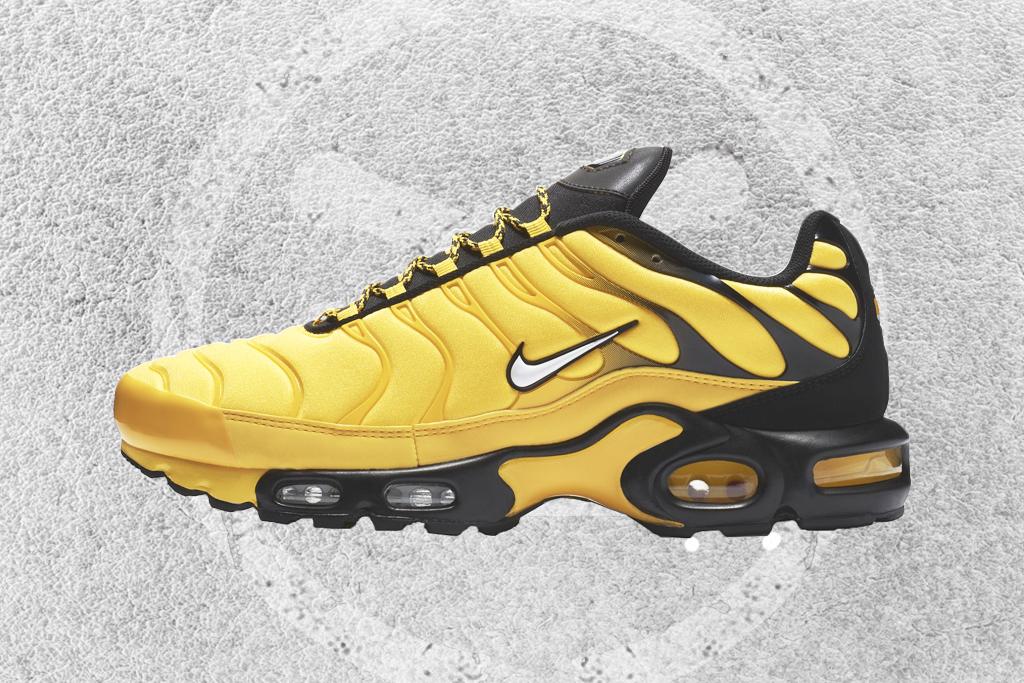 yellow nike air max