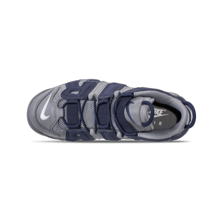 NIKE AIR MORE UPTEMPO '96 COOL GREY:WHITE-MIDNIGHT NAVY 4