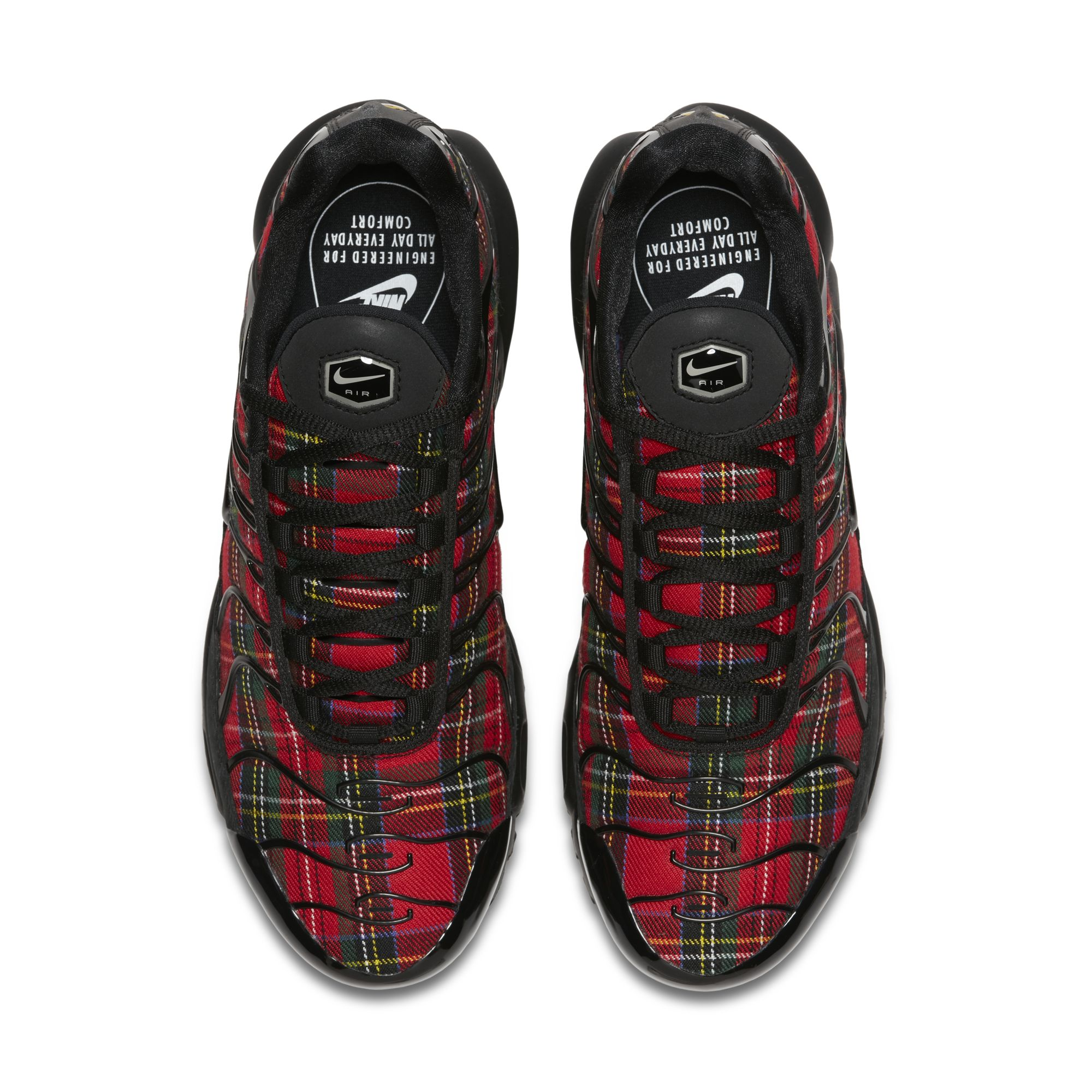 b5fb6baf10be NIKE WMNS AIR MAX PLUS TN SE TARTAN BLACK-BLACK-UNIVERSITY RED 2 ...