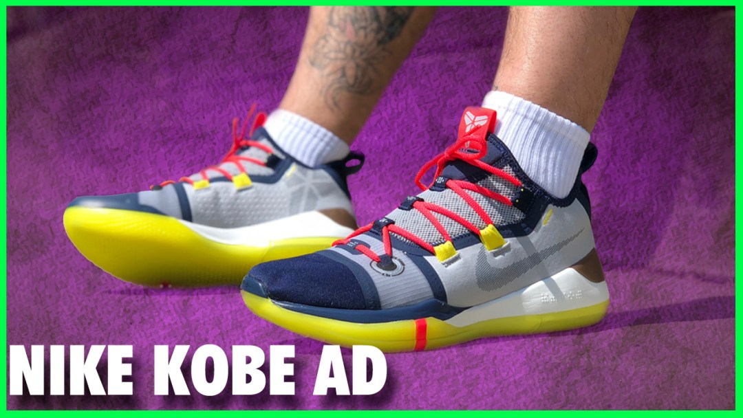 premium selection 1a6fe b2cfa Nike Kobe AD   Detailed Look and Review - WearTesters