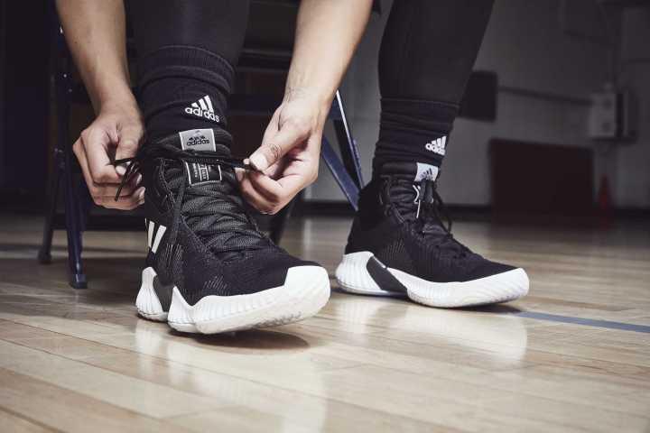 adidas pro bounce black white