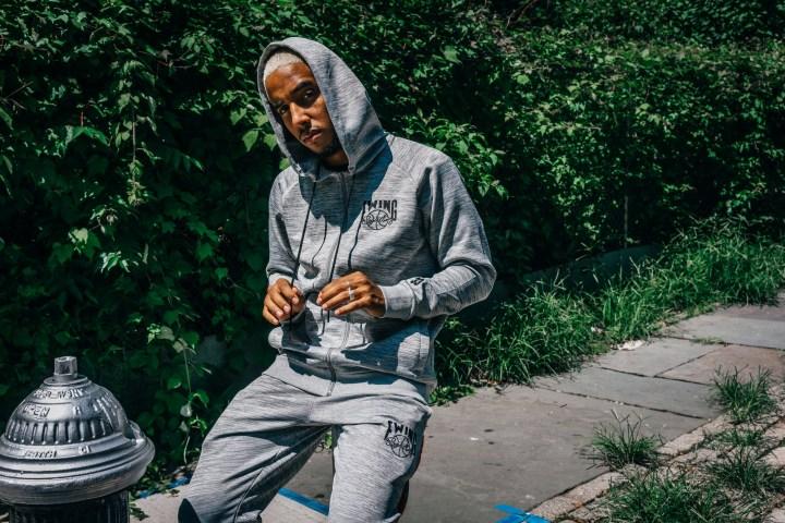 ewing athletics sweatshirt grey
