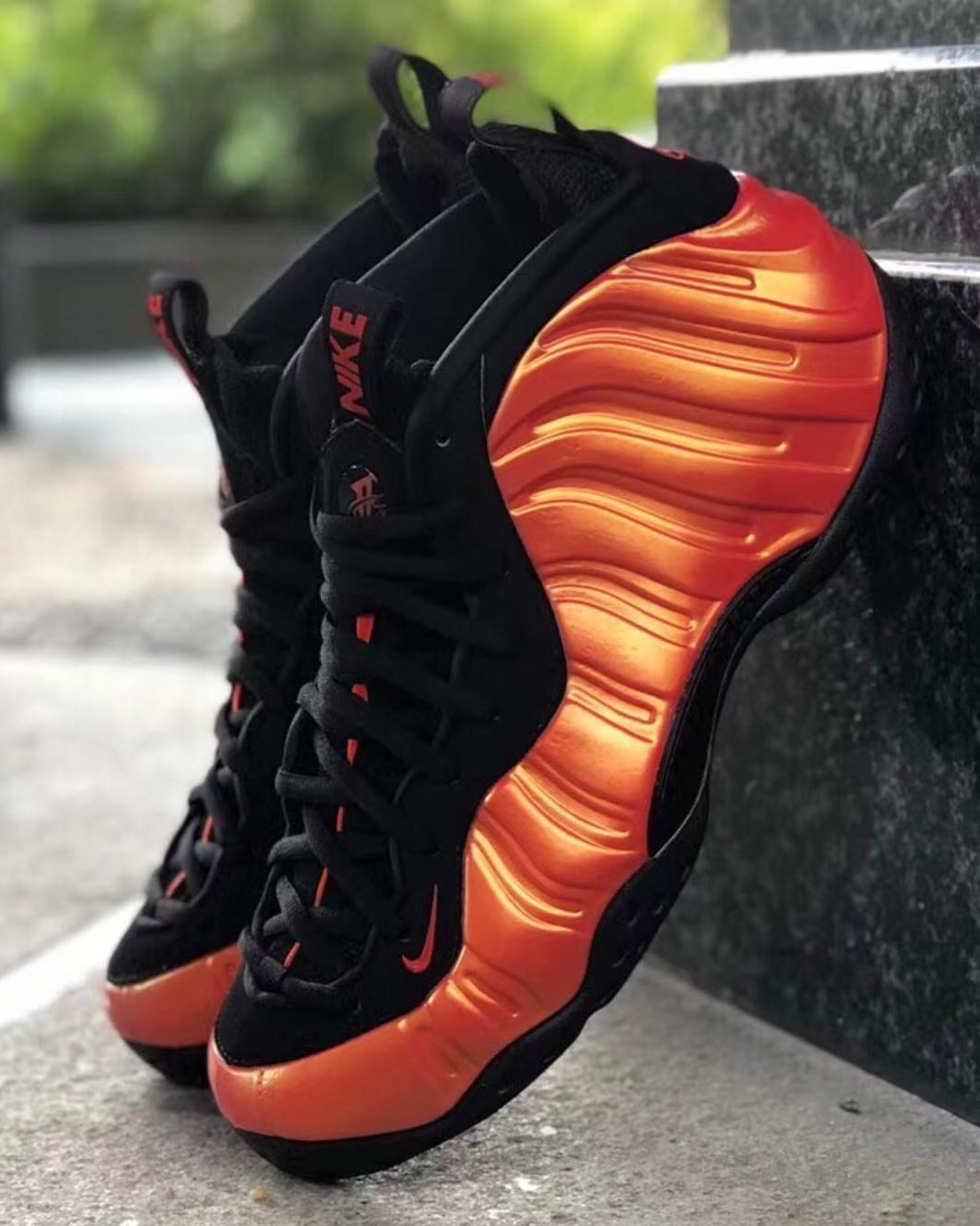 nike air foamposite one habanero red release date - WearTesters 3ba20fc92