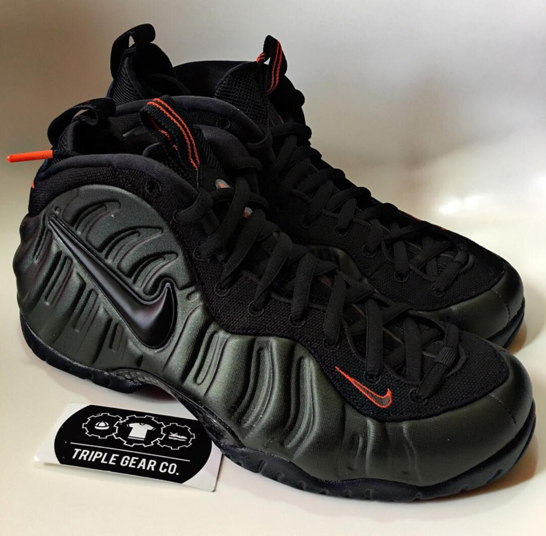 online store 0ebbb 5df4b usa nike foamposite pro olive acd1c a1bb0