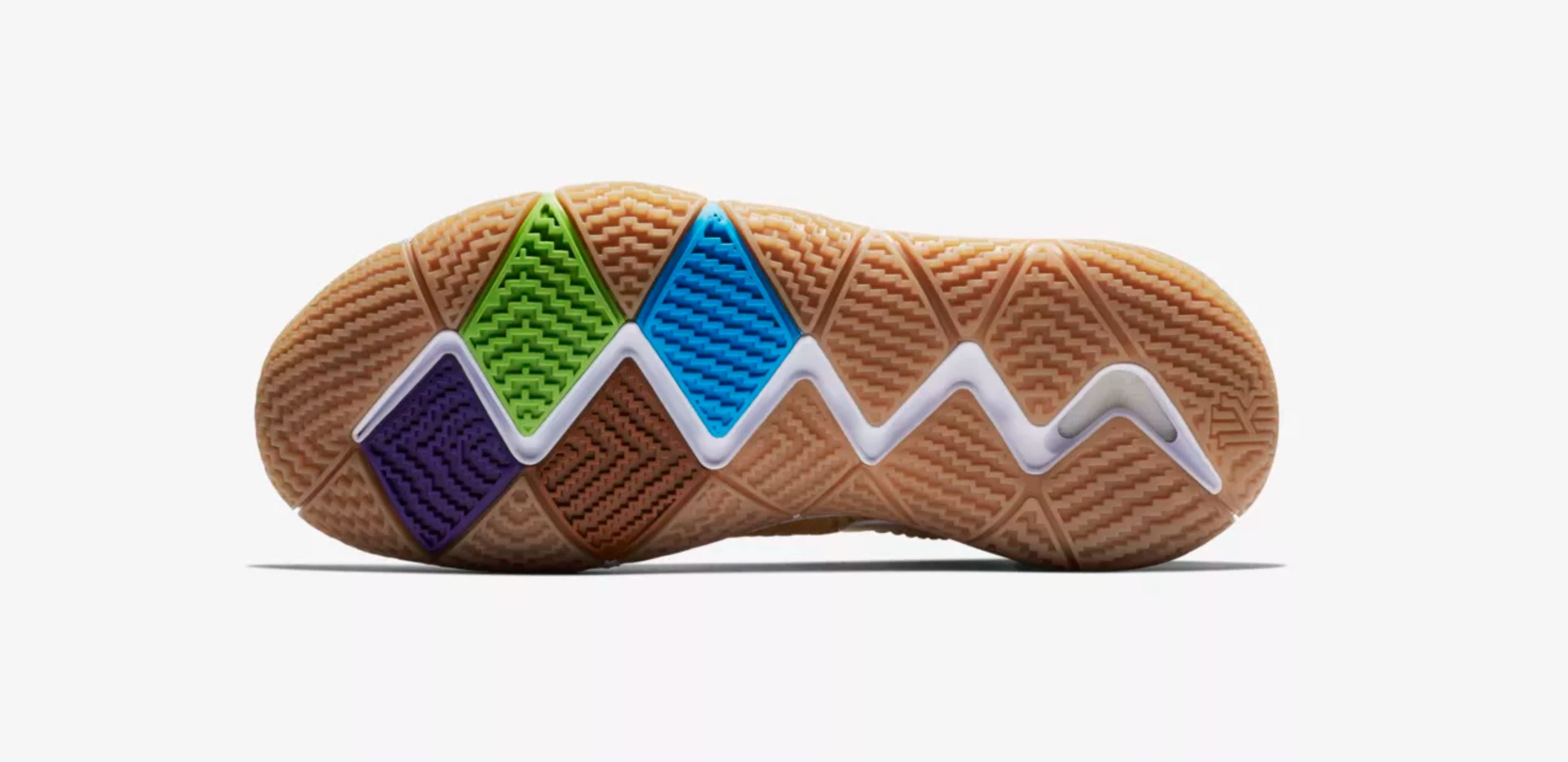 nike kyrie 4 cinnamon toast crunch outsole - WearTesters 4117fc01a