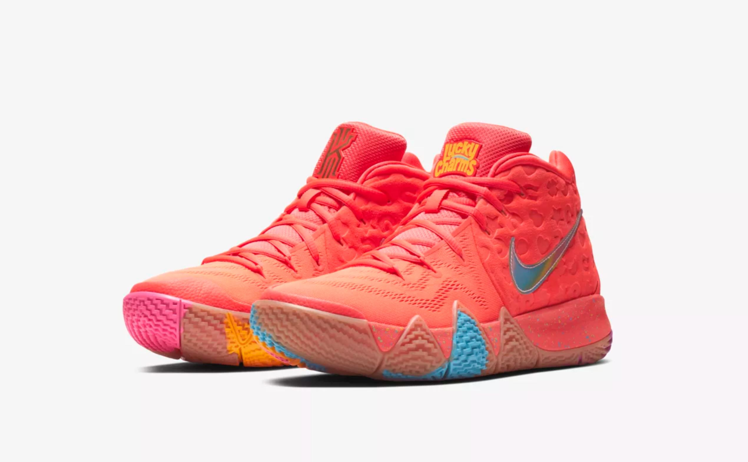 af7b579ce76 nike kyrie 4 lucky charms release date - WearTesters