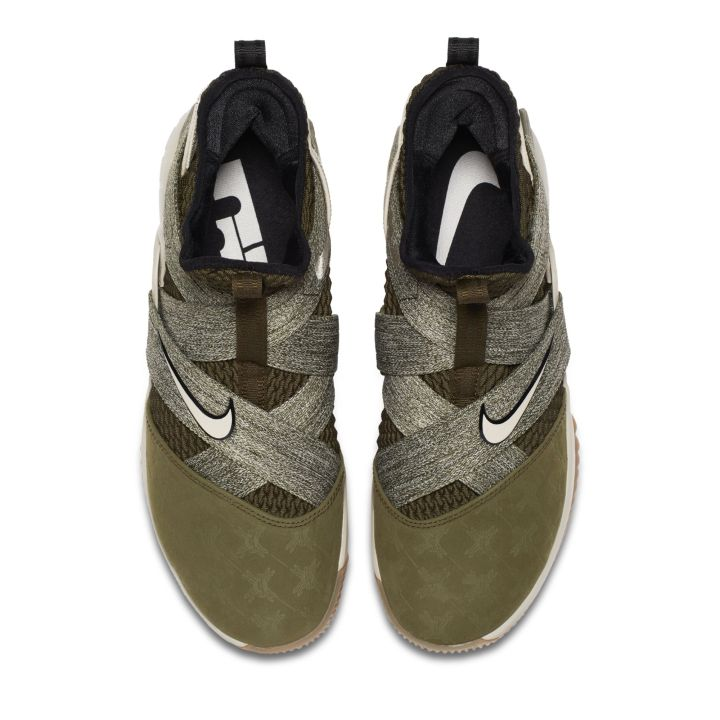 c24e4665b838 This Nike LeBron Soldier 12 Gets Debossed Suede Toes - WearTesters