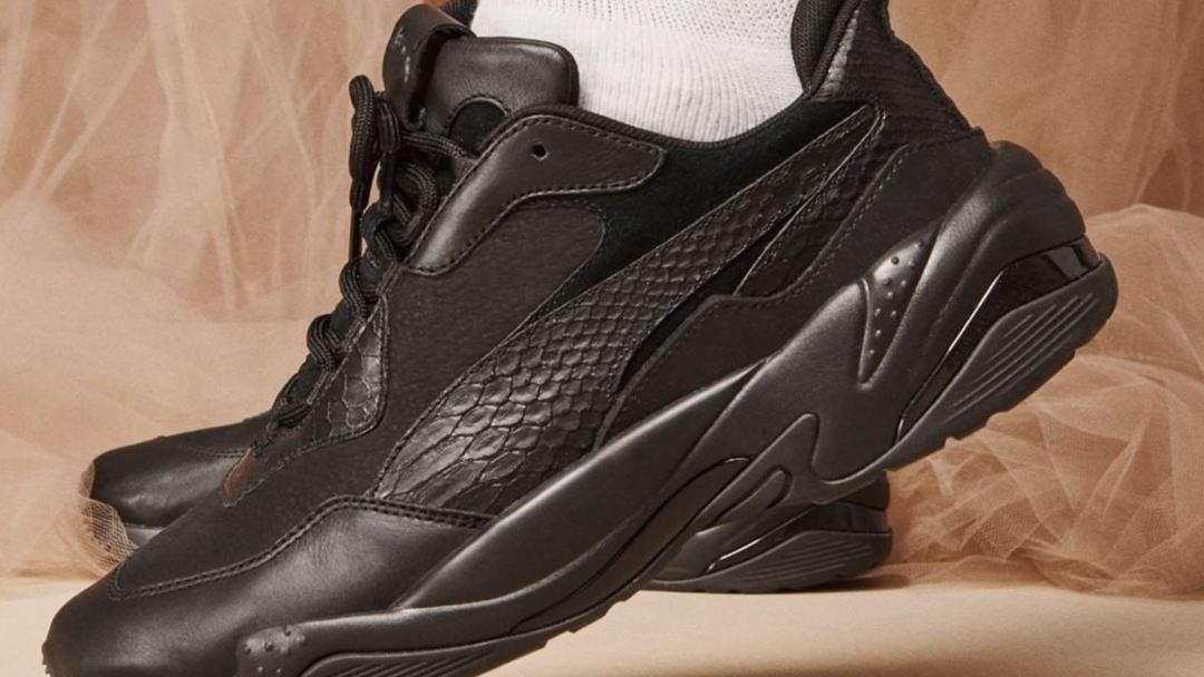 c404562acadb96 The Puma Thunder Desert Drops in Two Chunky Monochromatic Looks for ...