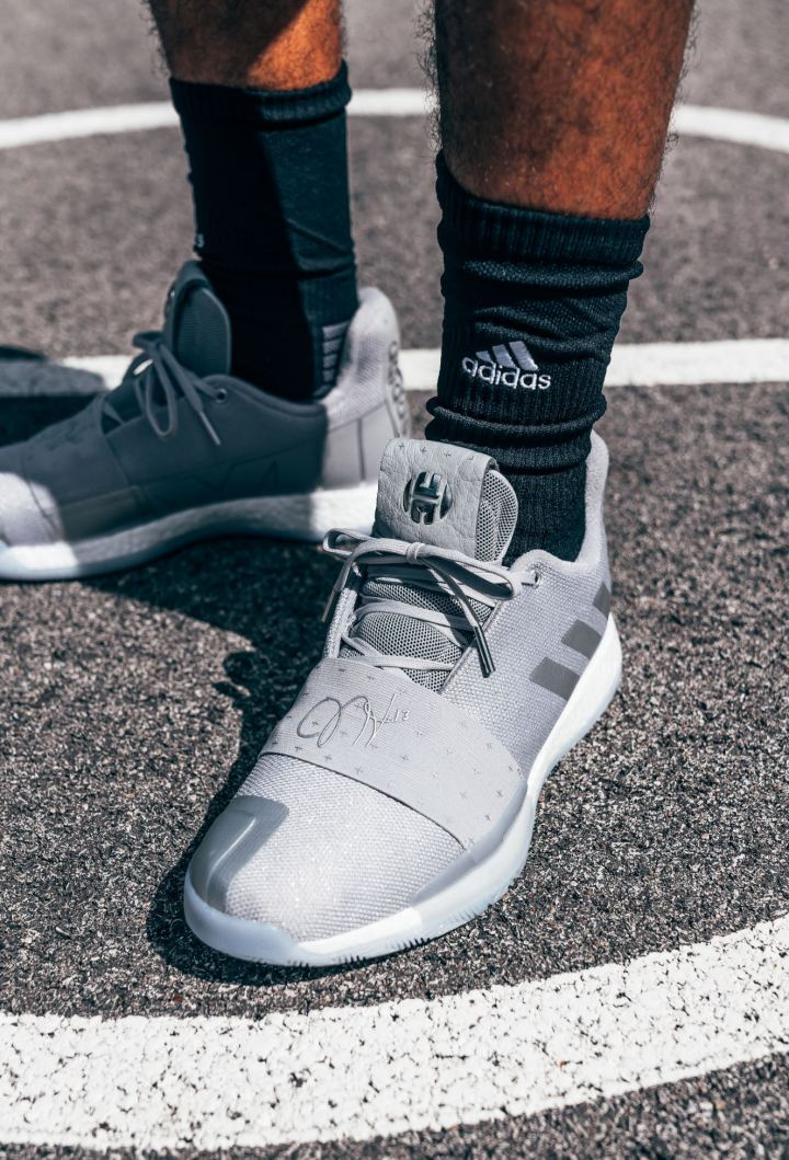 adidas harden vol 3 voyager on foot