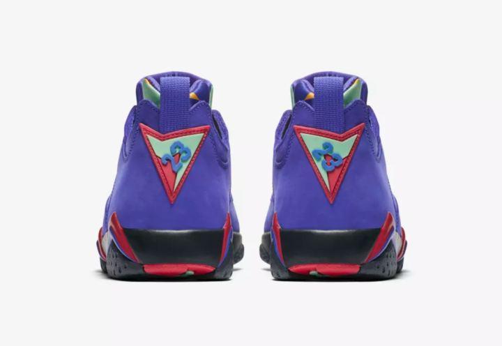 air jordan 7 low concord heel