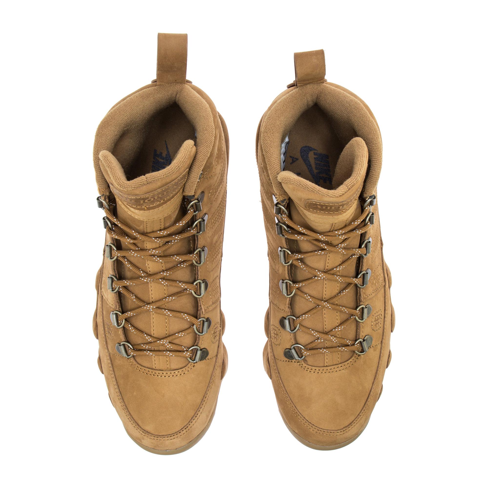 43a2d7410721f6 ... uk air jordan 9 boot nrg air jordan 9 boot nrg wheat 250d7 adbfa