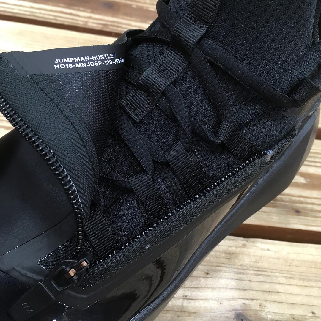 jordan jumpman hustle triple black 1 - WearTesters 0eb24f87c
