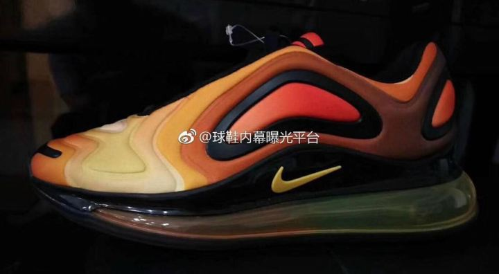 nike air max 720 yellow