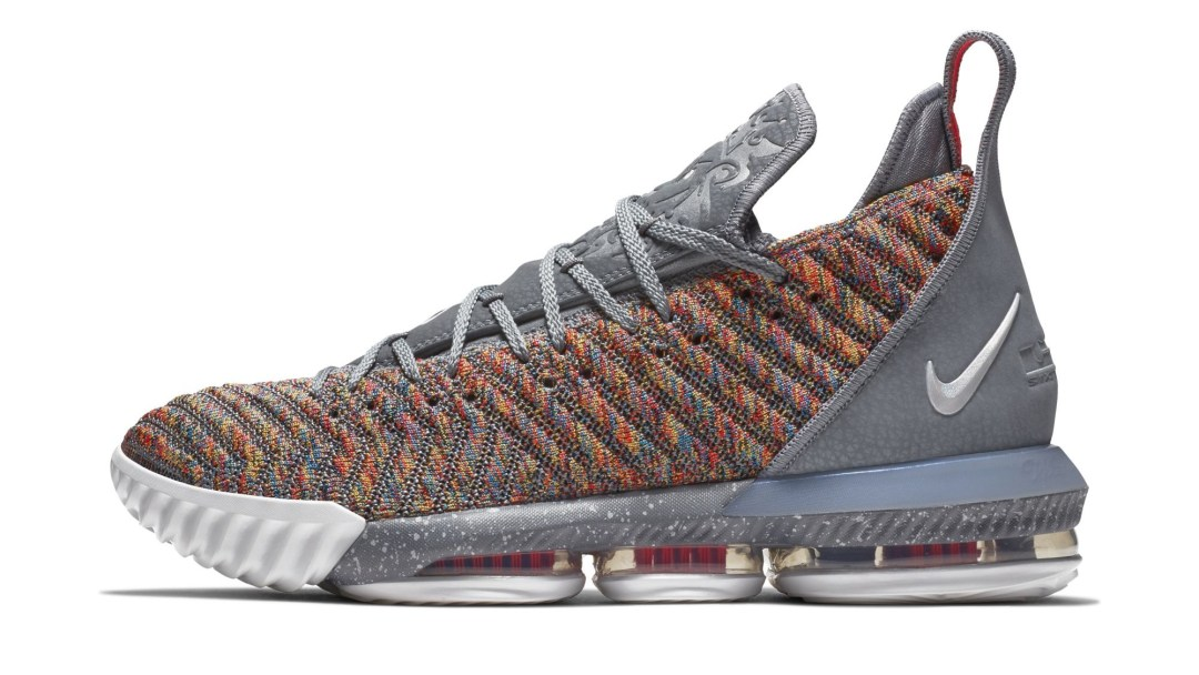 promo code 17548 515be nike lebron 16 multicolor release date