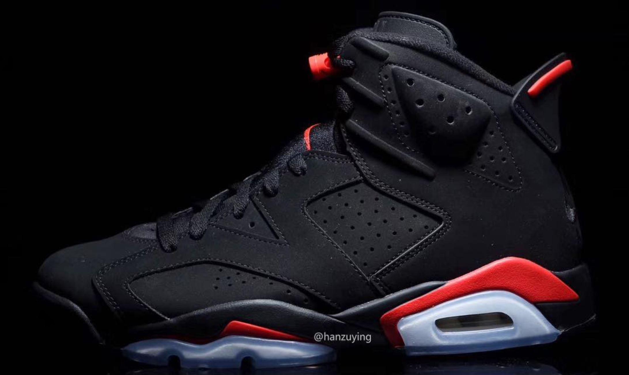 02c12dbd999c6c Jordan 6 Black Infrared Shirt
