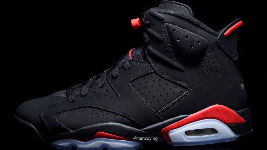 2019 air jordan 6 black infrared release date